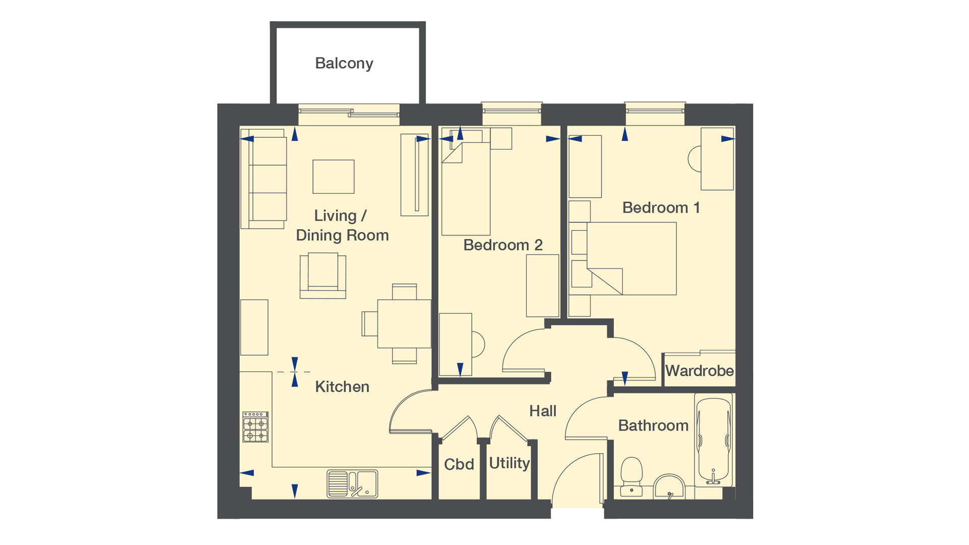 Renton Floor Plan