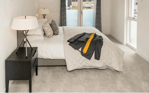 Arden Quarter case study bedroom example