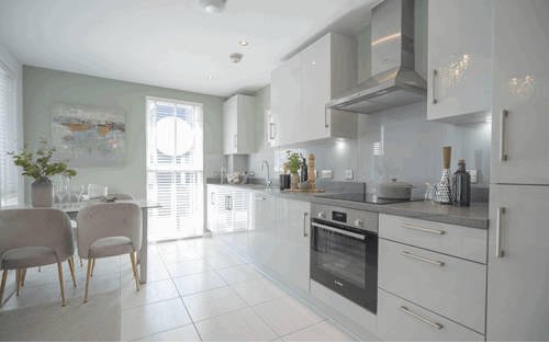 Arden Quarter case study kitchen